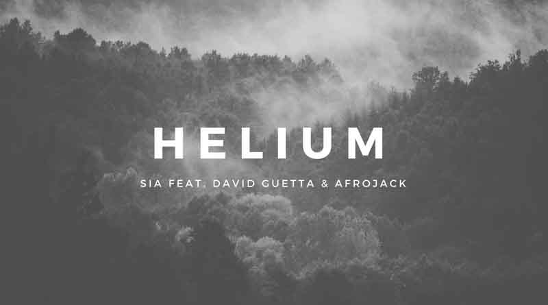 Helium Chords - Sia feat. David Guetta & Afrojack - Tab and Chord