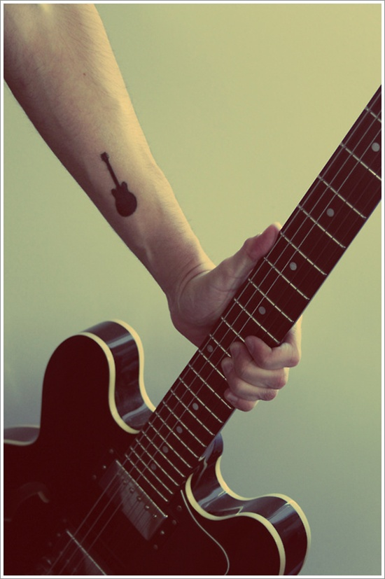 Below Are A Some Of Best Guitar Tattoos Which Looks Awesome On Both Men And Women