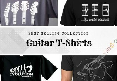 Best Guitar Printed T-Shirts