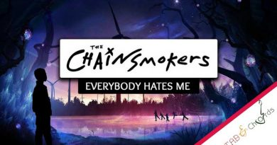Everybody Hates Me Chords – The Chainsmokers