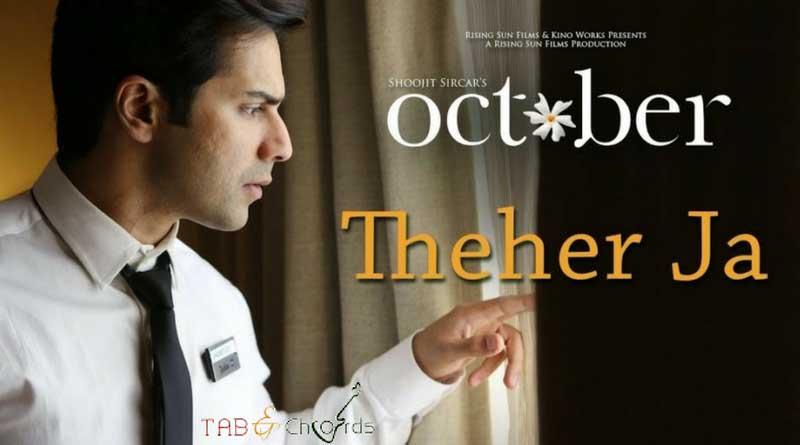 Theher Ja Guitar Tabs – October