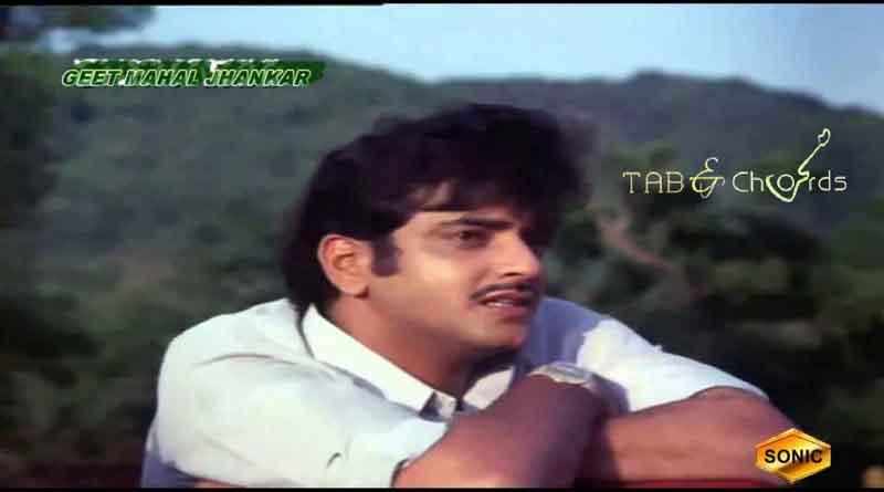 Musafir Hoon Yaaron Tabs – Kishore Kumar