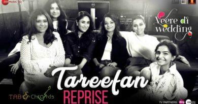 Tareefan Reprise Chords – Veere Di Wedding