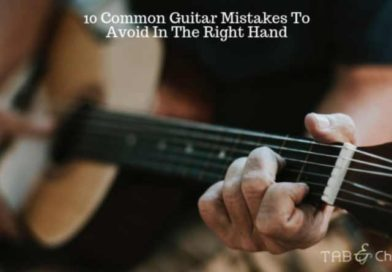 10 Common Guitar Mistakes To Avoid In The Right Hand